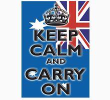 AUSTRALIA, AUSTRALIAN FLAG, KEEP CALM & CARRY ON, Australia, Aussie Unisex T-Shirt