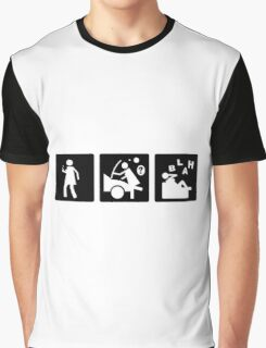 Three Little Pics - Women 7 Graphic T-Shirt