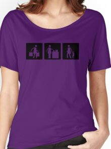 Three Little Pics - Women 8 Women's Relaxed Fit T-Shirt