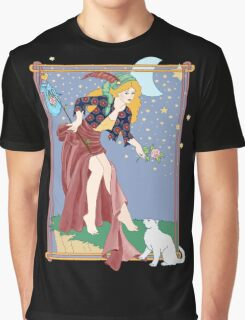 Tarot Fool Graphic T-Shirt