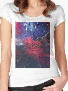 Abstract 53 Women's Fitted Scoop T-Shirt