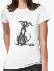 Digby dog Womens Fitted T-Shirt