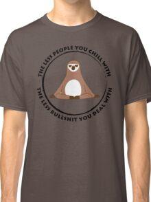 Sloth Yoga Zen Classic T-Shirt