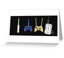 console wars Greeting Card