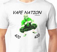 Vape Nation Fresh Black 100% Organic Plastic Tee - ONE:Print Unisex T-Shirt