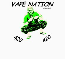 Vape Nation Fresh Black 100% Organic Plastic Tee - ONE:Print Unisex T-Shirt