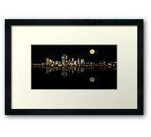Perth Panorama, Western Australia Framed Print