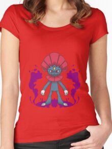Weavile Women's Fitted Scoop T-Shirt