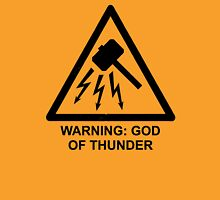 Warning God of Thunder Unisex T-Shirt