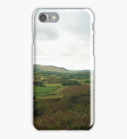 Wasdale Panorama, the Lake District, UK iPhone Case/Skin