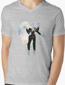 Formal Opal Mens V-Neck T-Shirt