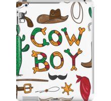 Real cowboy iPad Case/Skin