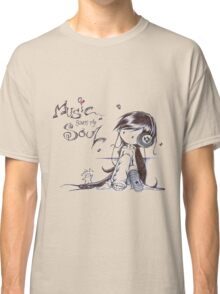Music Saves My Soul Classic T-Shirt