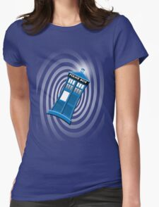 Tardis Tee Womens Fitted T-Shirt