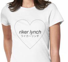 Riker Lynch Love Heart Womens Fitted T-Shirt