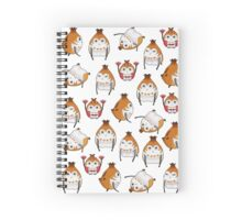 Paissa Brat Pattern Spiral Notebook