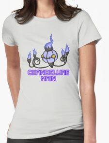 Chandelure Pixel Art Design Womens Fitted T-Shirt