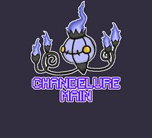 Chandelure Pixel Art Design Unisex T-Shirt