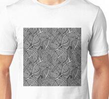 Hand drawn motif of city's map Unisex T-Shirt