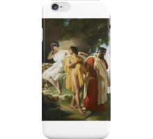 Raymond Monvoisin - Telemachus and Eucharis  iPhone Case/Skin