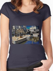 Minneapolis 11 Women's Fitted Scoop T-Shirt