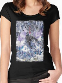 THE HIDDEN WITCH - Ars tenebrarum Women's Fitted Scoop T-Shirt
