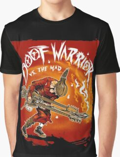 Guitar Warrior Vs The Mad Graphic T-Shirt