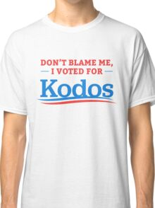 Don't Blame Me I Voted For Kodos Shirt Classic T-Shirt