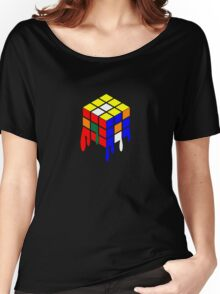 Dripping Cube Women's Relaxed Fit T-Shirt