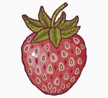 strawberry fields One Piece - Long Sleeve