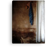22.3.2016: Towel and Curtains Canvas Print