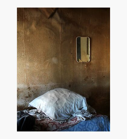 22.3.2016: Pillow and Mirror Photographic Print