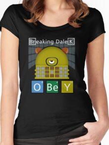Breaking Dalek Women's Fitted Scoop T-Shirt