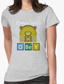 Breaking Dalek Womens Fitted T-Shirt
