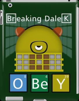 Breaking Dalek by ToneCartoons