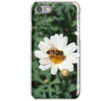 Pollen Covered Bee on a Daisy iPhone Case/Skin