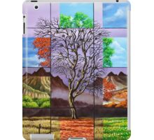 The tree at different times iPad Case/Skin