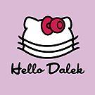 Hello Dalek by ToneCartoons