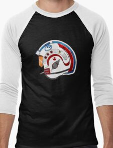 Rebel Alliance pilot helmet Men's Baseball ¾ T-Shirt
