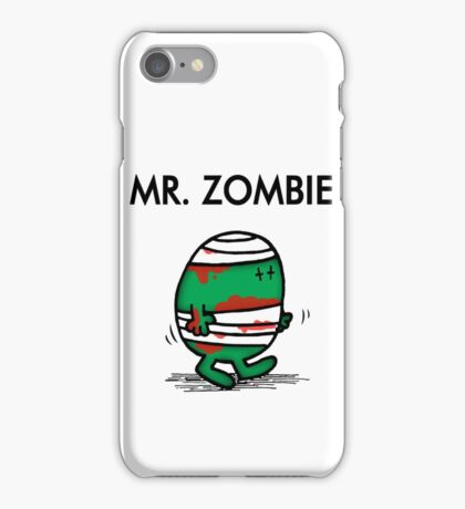 MR. ZOMBIE iPhone Case/Skin
