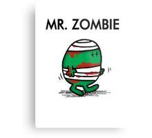 MR. ZOMBIE Metal Print
