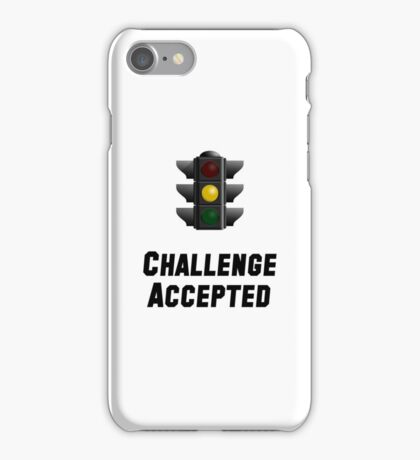 Challenge Accepted Light iPhone Case/Skin