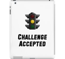 Challenge Accepted Light iPad Case/Skin
