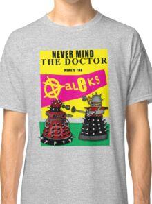 The Punk Daleks  Classic T-Shirt