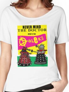 The Punk Daleks  Women's Relaxed Fit T-Shirt