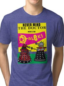 The Punk Daleks  Tri-blend T-Shirt