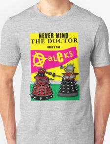 The Punk Daleks  Unisex T-Shirt