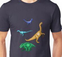Prehistoric Pixels: Triassic Unisex T-Shirt