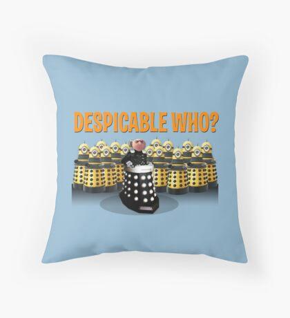 DESPICABLE WHO? Throw Pillow