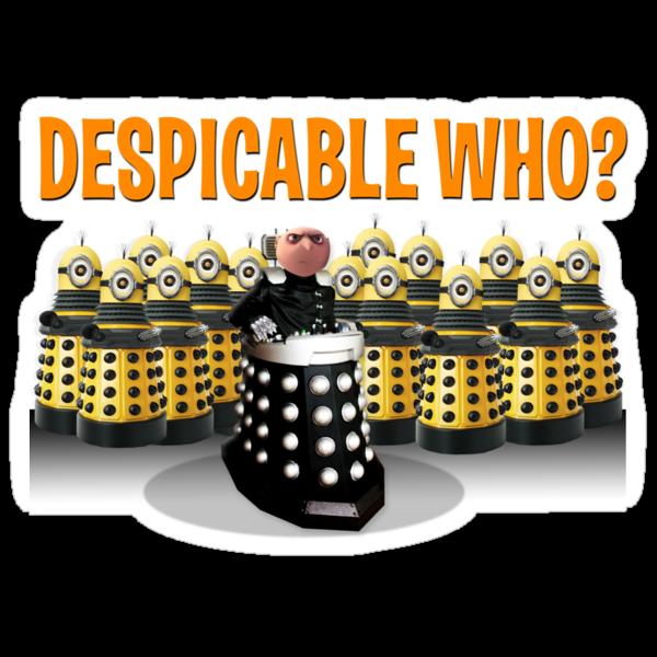 DESPICABLE WHO? by ToneCartoons